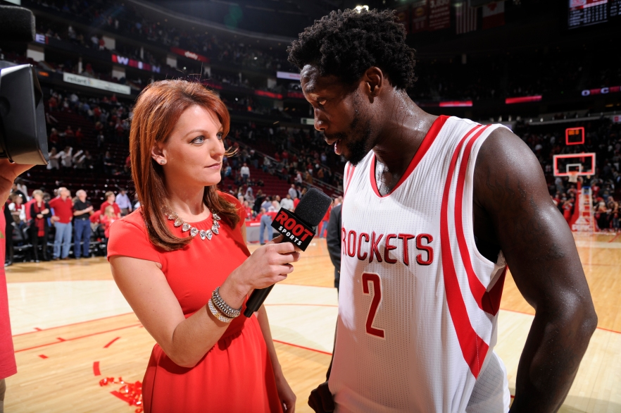 HOUSTON, TX - DECEMBER 6:  of the Houston Rockets of the Phoenix Suns on December 6, 2014 at the Toyota Center in Houston, Texas. NOTE TO USER: User expressly acknowledges and agrees that, by downloading and or using this photograph, User is consenting to the terms and conditions of the Getty Images License Agreement. Mandatory Copyright Notice: Copyright 2014 NBAE (Photo by Bill Baptist/NBAE via Getty Images)